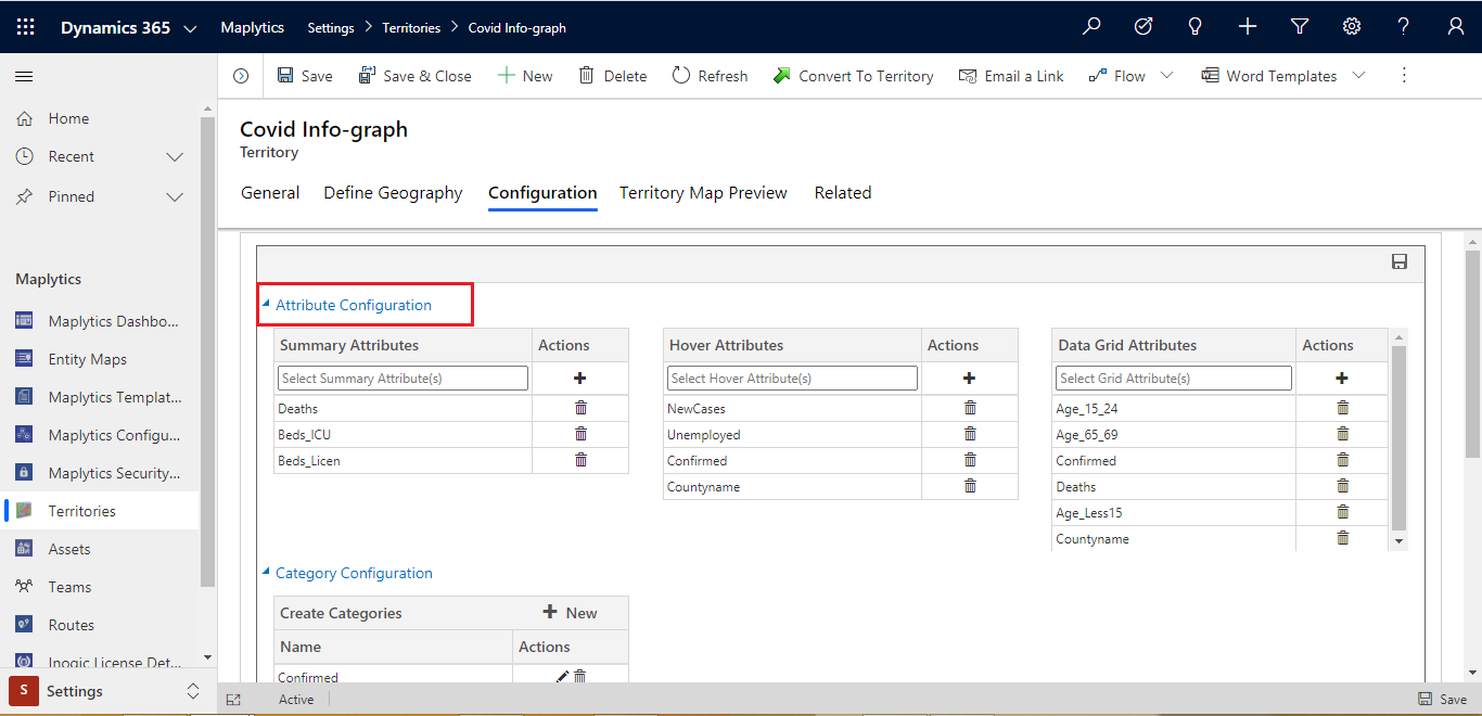 Shapefile Overlay and Configure it within Dynamics 365 CRM or PowerApps