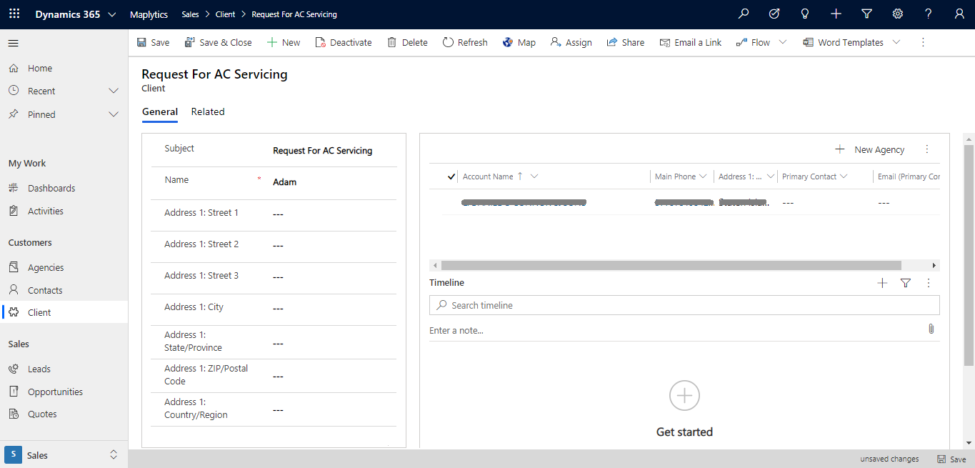 Associate Records directly through Detail Map within Dynamics 365 CRM